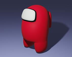 Among Us 3D model animated