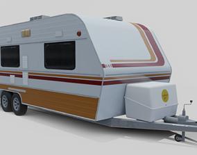 3D asset Karmann Guia Kc 640