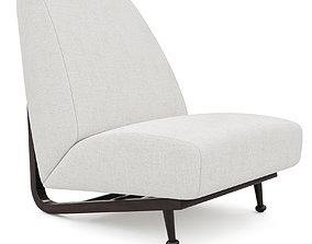 Alfonso marina voltaire chair 3D