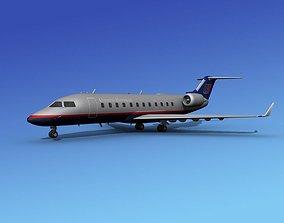 Canadair CRJ200 United Express 3D