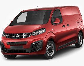 Opel Vivaro Van 2020 3D