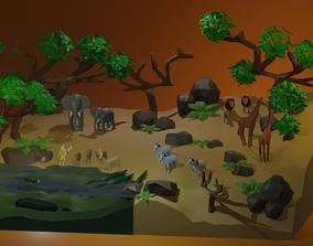 3D Savana Set