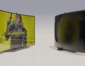 3D model Televison Led Premium