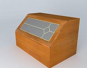 3D model Kitchen Red Fair Cabinet brw cabinet