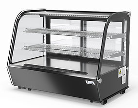 3D AVANTCO 34 inch Refrigerated Countertop Bakery Display