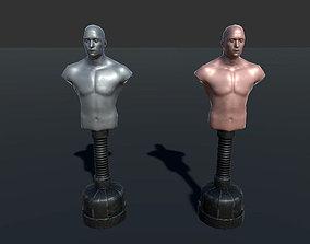Punching Bag 3D model animated