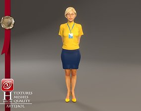 3D Hostess Female ECC 2130 0008