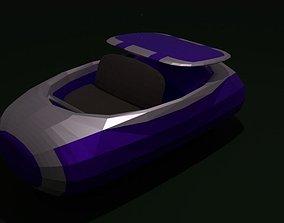 Space coaster 3D model