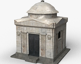 3D model game-ready Crypt