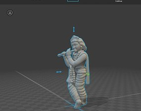sreekrishna print ready 3D printable model