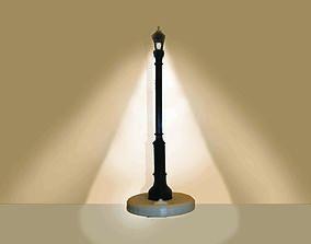 LED Street Lamp Light Stand 3D print model