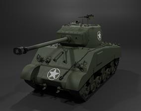 3D M4A2 76 W Sherman Medium Tank