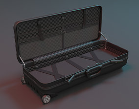 low-poly Suitcase 3D Model