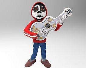 3D printable model Miguel