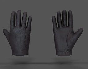 3D asset VR Hands - Leather Glove
