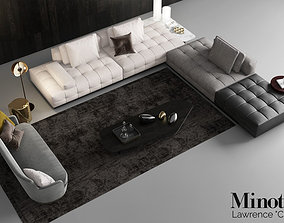 3D Minotti Lawrence Clan Seating 3