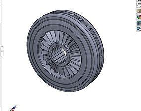 3D model Simple Compressor Wheel