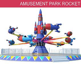 Rocket Carousel 3D model