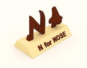 kids N for Nose Model