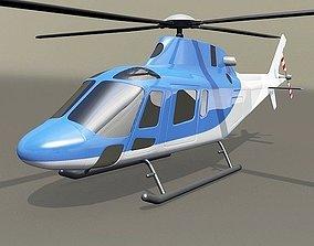 Agusta Westland aw119 Koala helicopter westland 3D