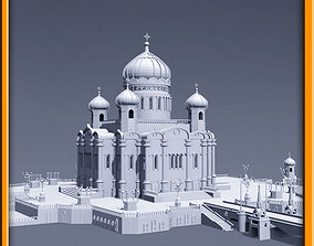 3D model religion Cathedral of Christ the Saviour