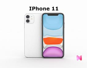 3D model 2019 iPhone 11 dual camera game asset