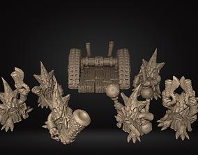 Goblin Squad Printable Miniatures