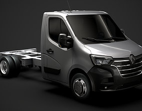 3D Renault Master SingleCab DW E20 Chassis 2020