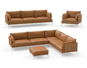 3D Zanotta William sofas