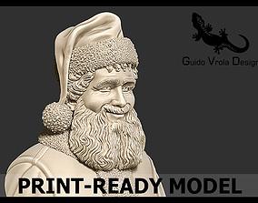 Printable Santa Claus Bust clause