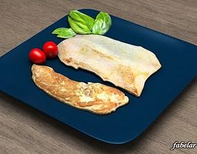 Grilled Turkey 3D