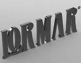 lormar logo 3D model
