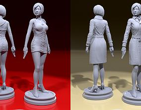 Ada Wong 3D print model sculptures