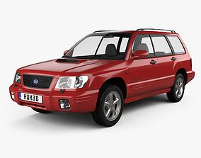 3D model Subaru Forester S-Turbo 2000