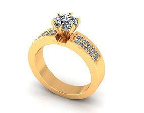 Wedding Ring R04 3D print model