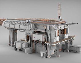 3D model sci-fi architecture 8