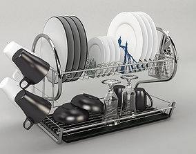 furniture Dishes Kitchen V1 - 3D Model