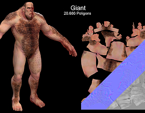 Wood Giant 3D model
