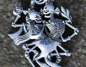 skeleton 3D printable model miniatures