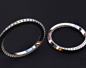 3D print model cnc twisted diamond ring
