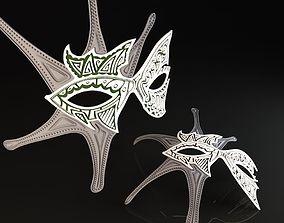 Decor mask Fish 3D