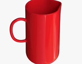 3D Jug Red