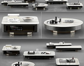 Minotti Milton Coffee Tables 3D