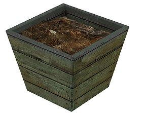 Old Flowerpot 01 01 3D model