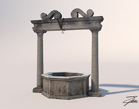3D asset realtime Water well