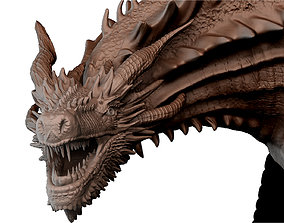 Drogon posed printable model 3D print model