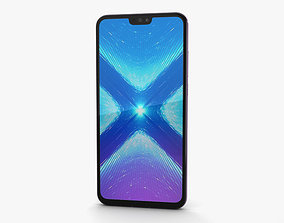 3D model Huawei Honor 8X Pink