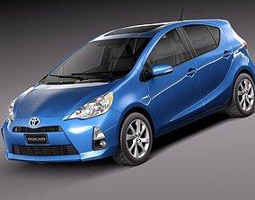 3D Toyota Prius C 2012