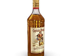 3D jamaica Captain Morgan 1L Bottle