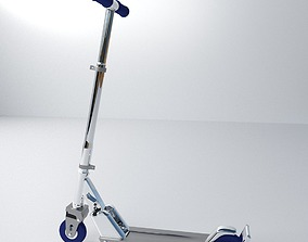 Push Scooter 3D